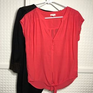 Soft Joie Chally Top in Coral